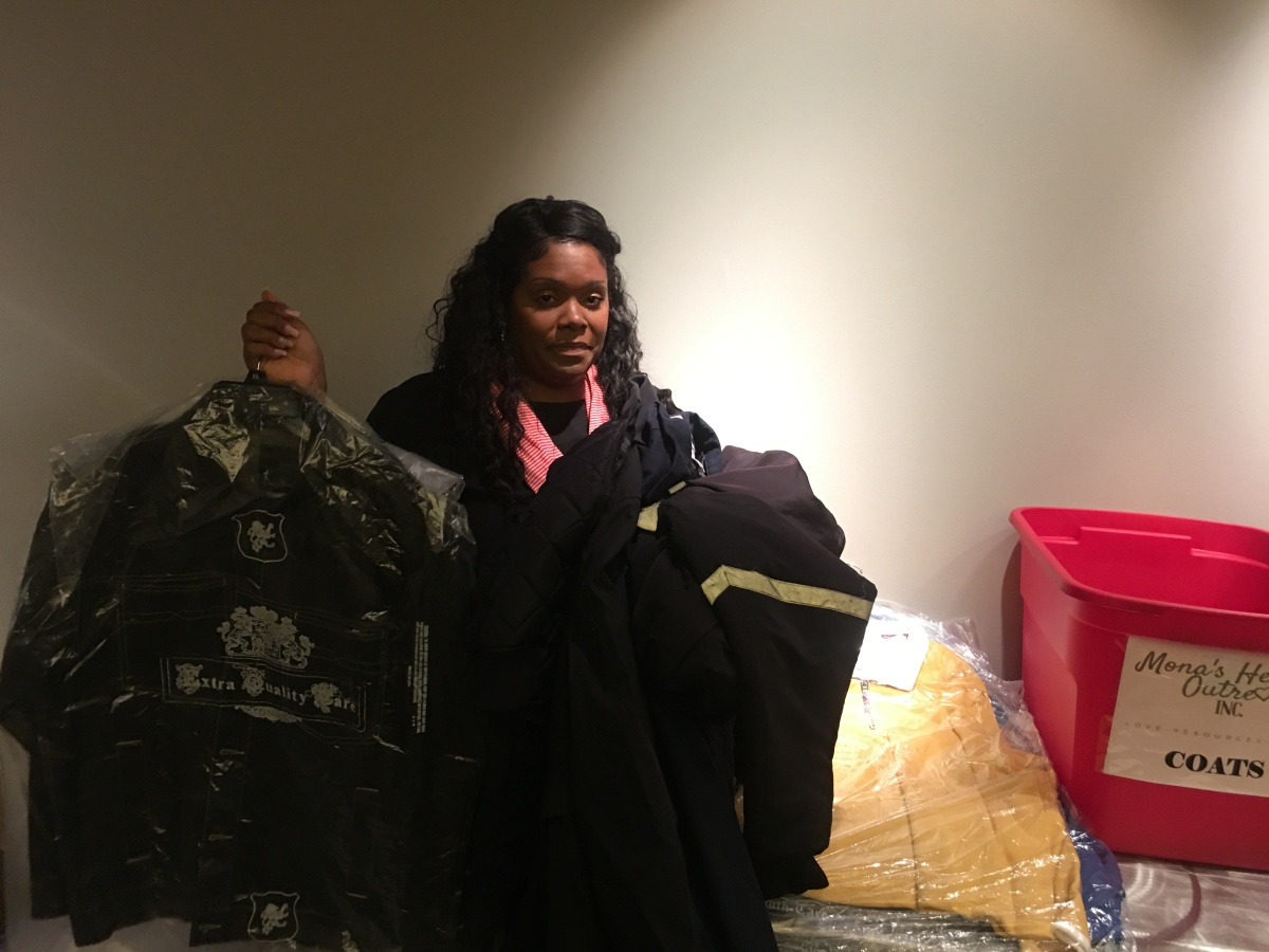 Mona's Heart Outreach has an annual coat drive